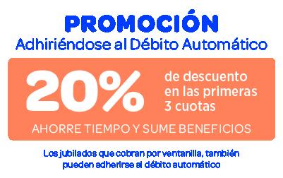 Promoción Debito Automatico